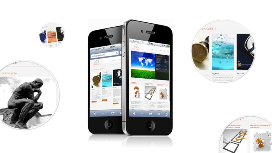 Antiopee sur les smartphones